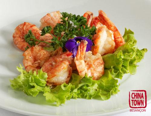 Crevettes sel et poivre • 101