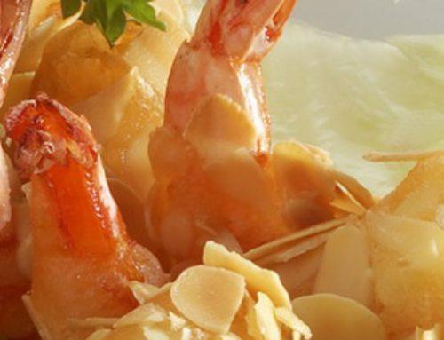 15 • Beignets de crevettes aux amandes  • 10.00€