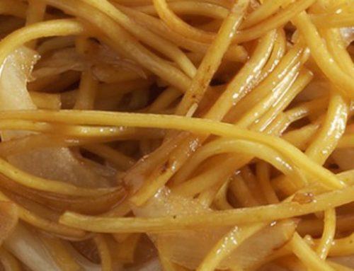 133 • Nouilles sautées aux germes de soja • 4.80€
